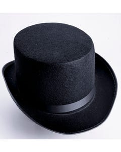 Black Economy Felt Top Hat
