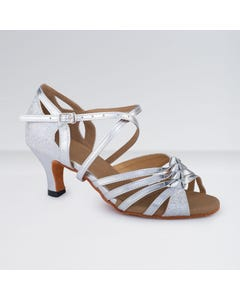 1st Position PU/Sparkle Buckle Fastening Ballroom Shoes
