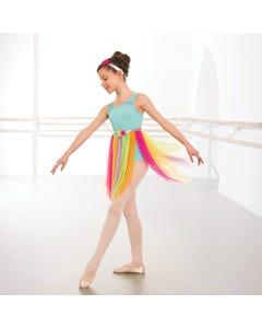 1st Position Rainbow Skirted Lyrical Dress