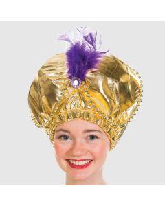 Gold Genie Hat