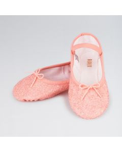 Bloch Sparkle Girls Full Sole Ballet Shoes