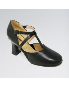 So Danca T-Strapped Elasticated Gussets 3 Inches Heel Character Shoes