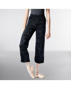 Lulli Knitted High Waist 7/8  Warm Up Pants