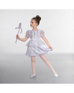 1st Position White Mirror Spot Party Dress
