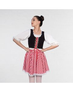 1st Position Corseted Basque Character Top