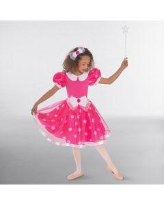 1st Position Polka Dot Party Dress