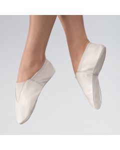 Split Sole Leather Gymnastic Shoe