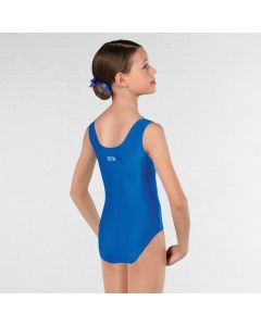 IDTA Ruched Front Leotard Royal Blue