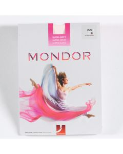 Mondor Ultra Soft Seamed Ballet Tights Pink