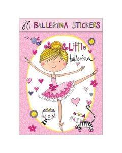 Ballerina Sticker Book Pink