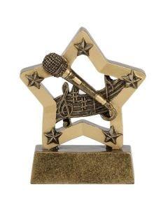 Mini Star Award Music (8cm)