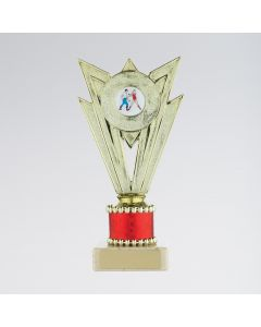 Dance Trophy with Red Stem