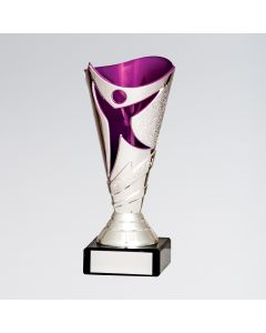 Silver and Pink Dance Trophy