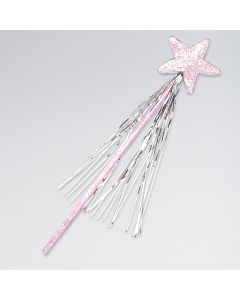 Pink Sequin Star Wand