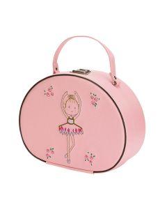 Katz Pink Ballerina Hard Beauty Case