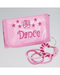 Pink Dance Purse Keyring