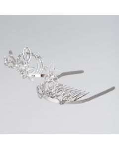 Tiara On Comb (Various Designs)
