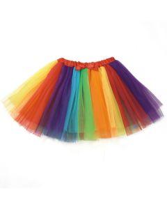 Rainbow Multi Coloured Tutu Skirt