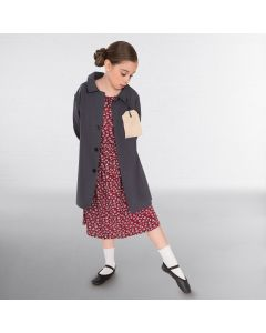 Child Evacuee Girl with Jacket