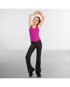 1st Position Value V Front Jazz Pants Nylon
