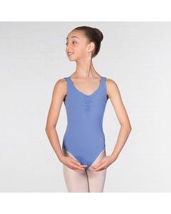 IDTA Ballet Sleeveless Low Back Leotard Sapphire