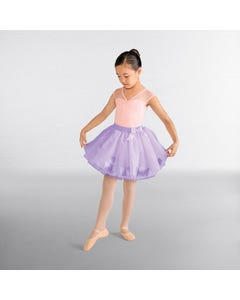 Mirella Bubble Tutu with Petals and Bow
