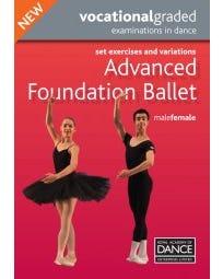 Advanced Foundation Male/Female Syllabus DVD