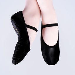 Plume Leather Ballet Shoes