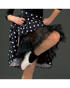 Black Layered Net Petticoat/Skirt - Child One Size