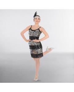 Sequin Drop Dress Adult One Size